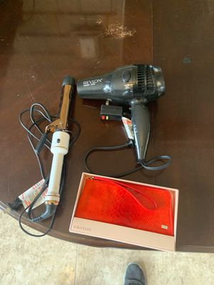 Wallet, curling iron and blow dryer for Sale in Preston, MD
