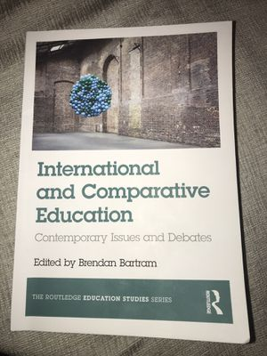 International and comparative education textbook for Sale in Fountain Valley, CA