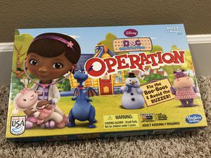 Operation - Doc McStuffins game for Sale in Happy Valley, OR