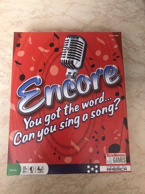 Encore Board Game for Sale in Hialeah, FL