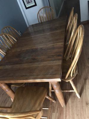 Wooden dining table for Sale in Crofton, MD