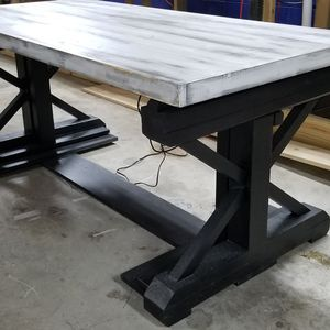 New Rustic Electric Sit or Stand Farmhouse Riser Desk for Sale in Nashville, TN