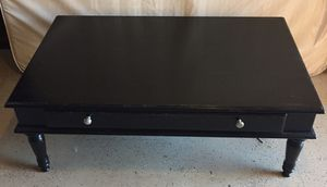 Distressed Black Coffee & Console Tables for Sale in Fenton, MO