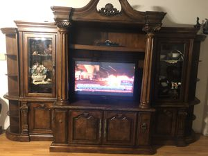 Ashley luxurious entertainment furniture for Sale in Los Angeles, CA