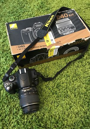 Like new Nikon D40! for Sale in San Diego, CA