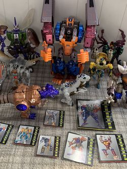 TRANSFORMERS BEAST WARS COLLECTION for Sale in Reston,  VA