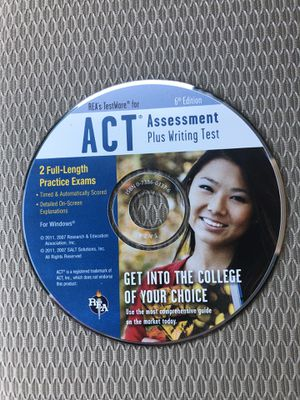 ACT Assessment and Writing Test Guide. for Sale in Plainfield, IL