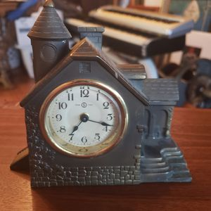 Vintage antique brass Seiko collectible mantel clock for Sale in Tacoma, WA