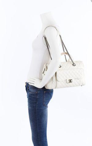 Auth Chanel casual pocket bowling bag retails $4500 for Sale in Glendale, CA