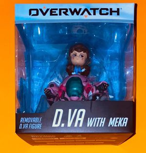 Overwatch D.Va with Meka Figure for Sale in Bala Cynwyd, PA