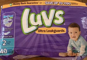 New in package luvs diapers for Sale in Plano, TX