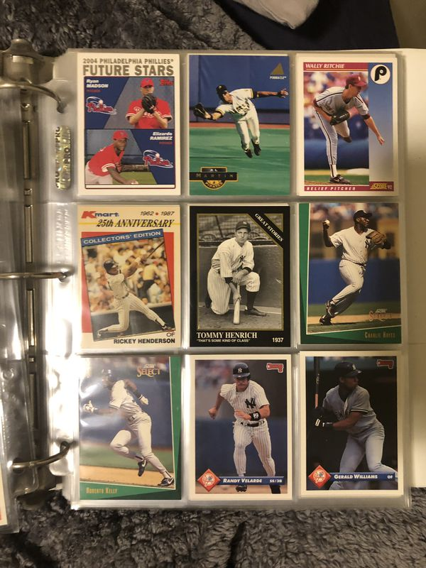 Late 80s Early 90s Baseball Cards.