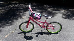 Girls bike and helmet for Sale in Syosset, NY
