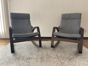 IKEA Poang rocking chairs (2) for Sale in El Cerrito, CA