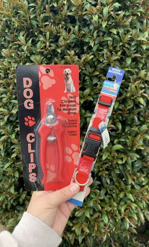 Dog collar and nail clips for Sale in Los Angeles, CA