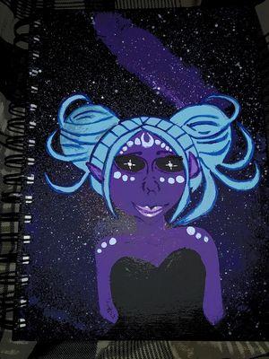 Galaxy girl journal for Sale in Wadena, MN