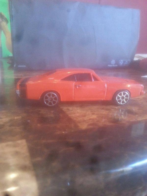 1969 dodge charger collectable toy car