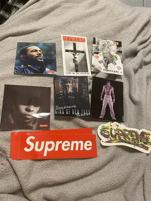 Supreme stickers for Sale in Chiriaco Summit, CA