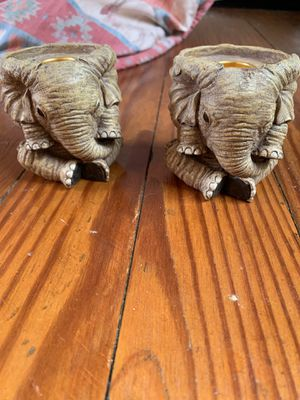 Elephant candle holders for Sale in Jetersville, VA