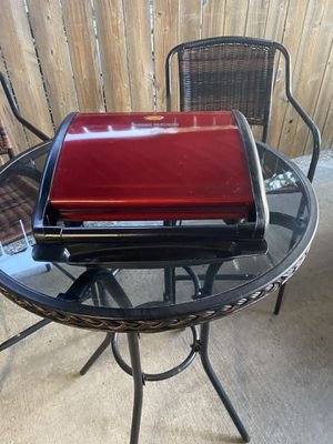 Used- George Foreman - red grill for Sale in Baytown, TX