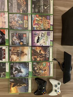 XBOX360 +KINECT + GAMES FOR SALE for Sale in Seattle,  WA