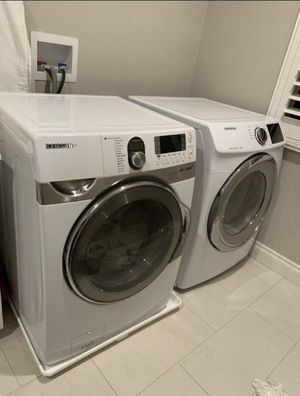 SAMSUNG washing machine and dryer set for Sale in Upland, CA