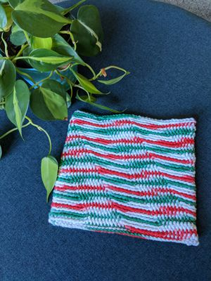 Cotton Crochet Christmas Hotpad for Sale in Palo Alto, CA