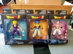 Dragon Ball Stars Action Figure Wave 11 Case SET Of 3 Bandai for Sale in Los Angeles, CA