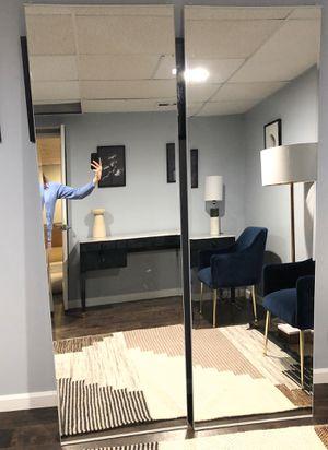 Sliding mirror doors for closet for Sale in Redmond, WA