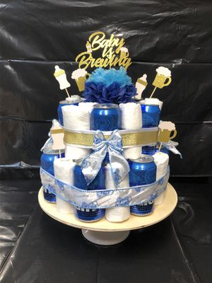 Father-to-be Diaper Cake for Sale in Frisco, TX
