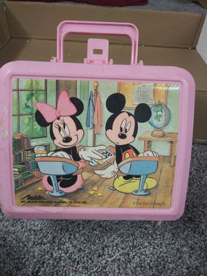 Mickey and Minnie lunch box and thermos for Sale in Clinton Township, MI