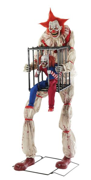 Trick or treat HALLOWEEN Clown animated prop for Sale in Brea, CA