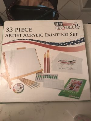 US Art Supply 33 Piece Acrylic Paint Set *NEW* for Sale in Hollywood, FL