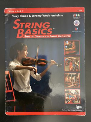 Basic strings music book for Sale in North Las Vegas, NV