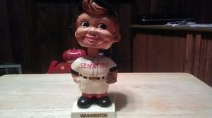 Authentic original 1960s Washington senators bobble head for Sale in District Heights, MD