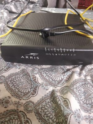 Arris TG852 modem & router for Sale in Dearborn Heights, MI