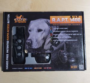 NUEVO, NEW D.T. Systems R.A.P.T. 1400 Training E-Collar For Dogs $125 for Sale in Houston, TX