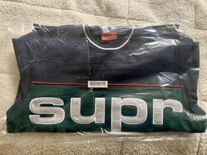 Supreme Piping Crewneck Navy Large for Sale in Denver, CO
