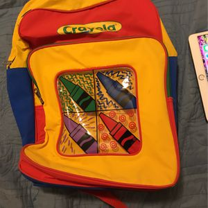 Crayola Backpack for Sale in Columbia, MD