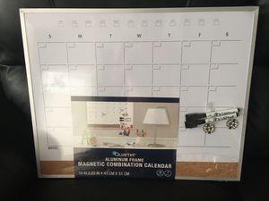"Quartet Magnetic Combination Calendar Board, 16""x 20"" for Sale in Charlotte, NC"