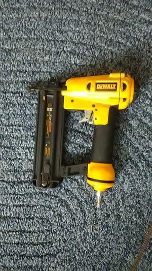 A Dewalt nail gun model number d51238 18 gauge for Sale in Federal Way, WA