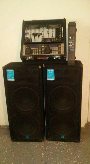 DJ equipment 1000 obo for Sale in Chicago, IL