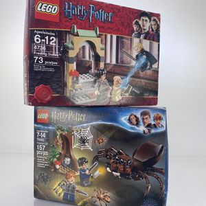 LEGO Harry Potter 4736 Freeing Dobby And 75950 Aragogs Lair for Sale in Claremont, CA