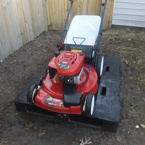 """TORO 6.75HP, 190CC, 22""""CUT, FRONT DRIVEN SELF-PROPELLED MOWER with BAGGER for Sale in Norfolk, VA"""