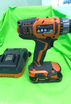 Ridgid cordless drill for Sale in Tampa, FL