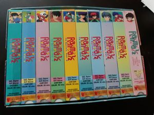 Ranma 1/2 vhs collection 1-9 + extra video for Sale in Whittier, CA