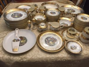Beautiful holiday antique china for Sale in Apopka, FL