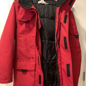 Mens Red Parka , Small for Sale in Denver, CO