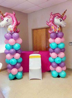 2 Unicorn Balloon Towers for Sale in Half Moon Bay, CA