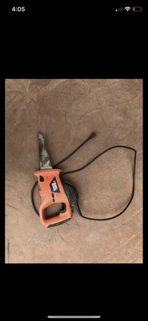 Black and decker electric hand saw power tools for Sale in San Marcos, CA